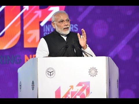 PM Shri Narendra Modi inaugurates Uttar Pradesh Investors' Summit in Lucknow