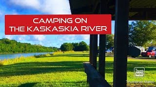 Camping on the Kaskaskia River in Illinois - Campground Review