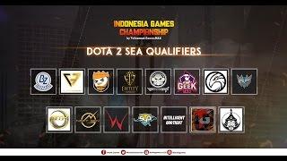 DOTA 2 SEA QUALIFIER - IGC By Telkomsel GamesMAX