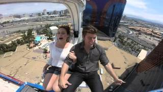 Husband Scares Terrified Wife On Vegas Thrill Ride