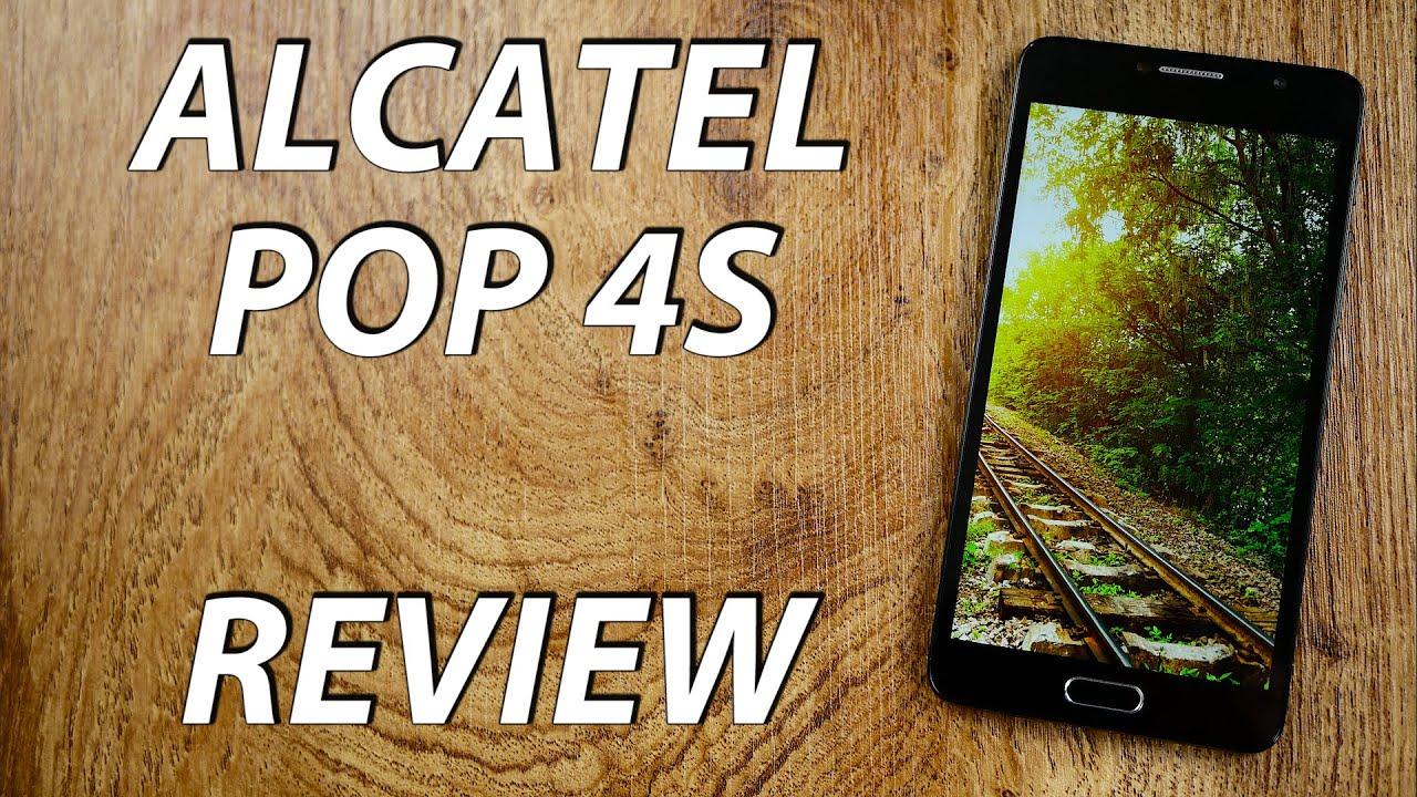 Alcatel Pop 4s - Review!
