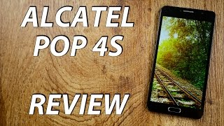 alcatel POP 4S Review