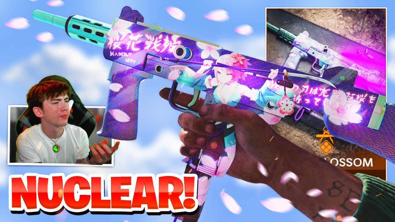NEW ANIME TRACER PACK NUCLEAR! ANIME BLOSSOM TRACER PACK SHOWCASE IN COLD WAR WARZONE! (SEASON 4)