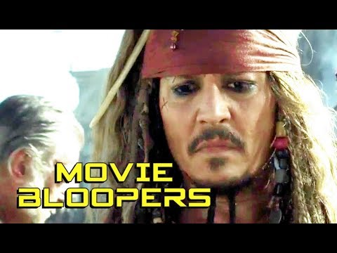 Download PIRATES OF THE CARIBBEAN 5 Bloopers Gag Reel (2017) Johnny Depp Disney Action Movie HD