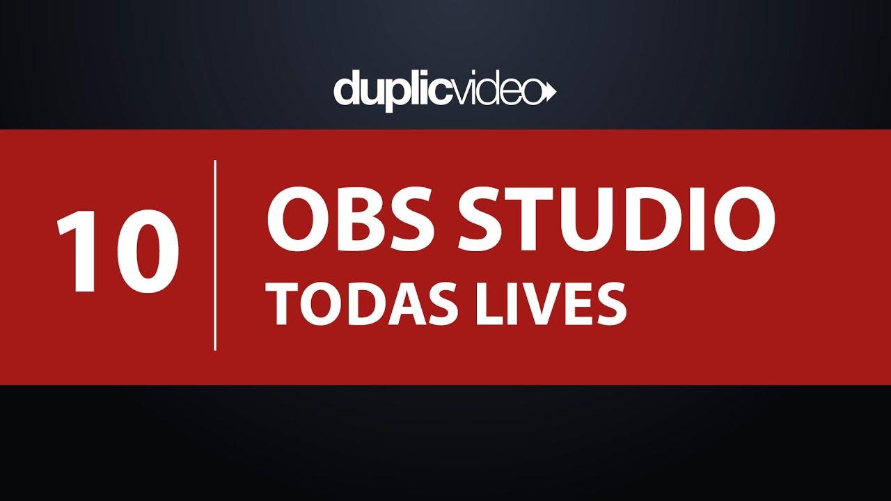 Curso OBS Studio - Aula 10 - Transmissão para todas redes sociais ao mesmo tempo