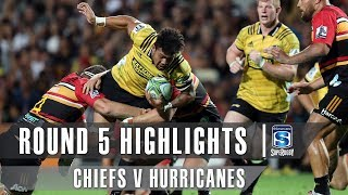 ROUND 5 HIGHLIGHTS: Chiefs v Hurricanes – 2019