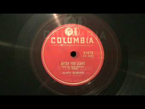 MARTY ROBBINS - AFTER YOU LEAVE