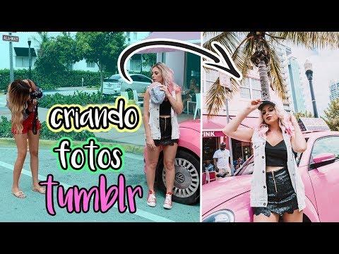CRIANDO FOTOS TUMBLR EM MIAMI | Amanda Domenico Vlog