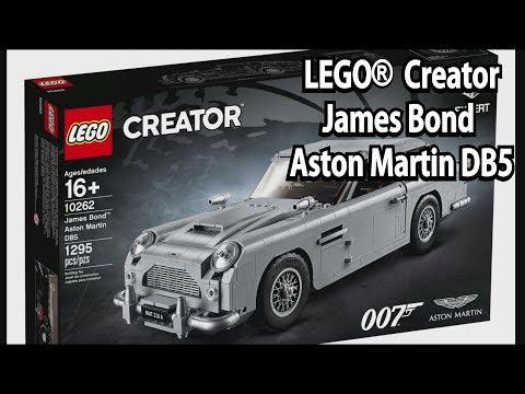 LEGO James Bond Aston Martin DB5 (Creator Expert Set 10262) - Klemmbausteinlyrik News