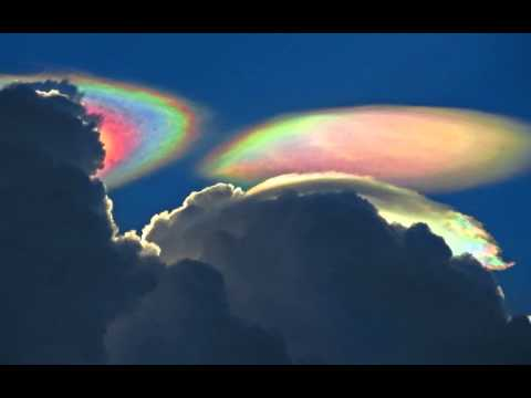 Image result for rainbow cloudship ufo