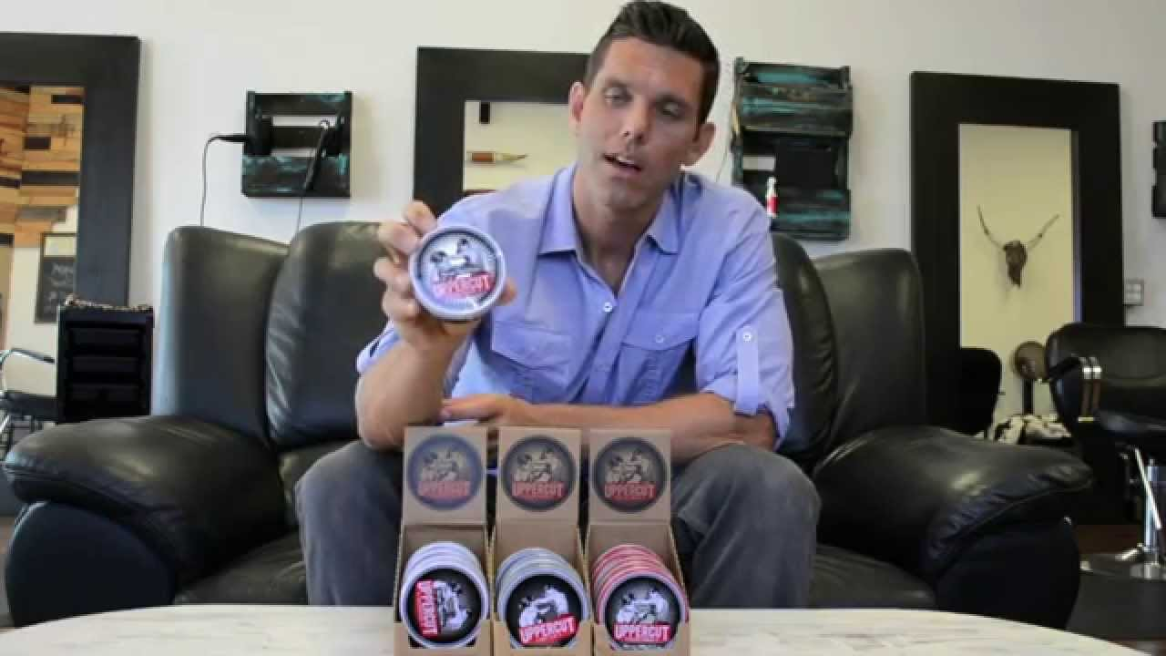 Man Cave Hair Cream Review : Men s hair products review on uppercut youtube
