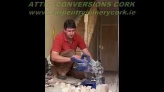 Attic Conversions Cork   Jonathan Evans Carpentry Joinery   Tel: 086-2604787