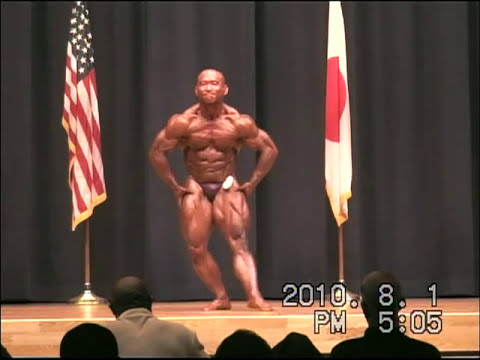 2010 Central Japan bobybuilding championship middle weight 2