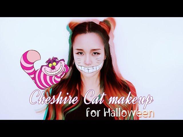  ENG  ??? ????   ??? ????   Cheshire cat makeup for halloween   Snazaroo face paint