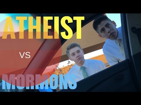 Atheist vs Mormons debate