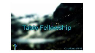 Table Fellowship