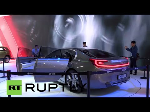 China: Changan Auto launch electric four-door coupe concept and 4x4 CS75 SUV
