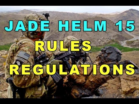 Jade Helm 15 Realistic Military Rules and Directives