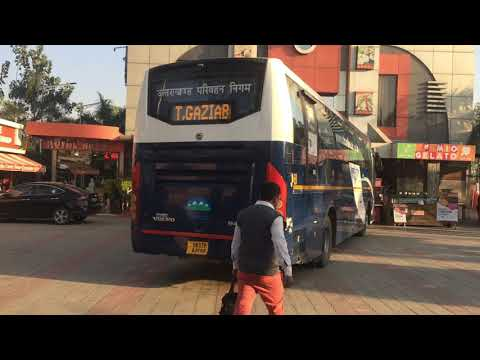 UTC Volvo B8R || from Dehradun to Delhi and short journey video | @ Travel With Aman @ |