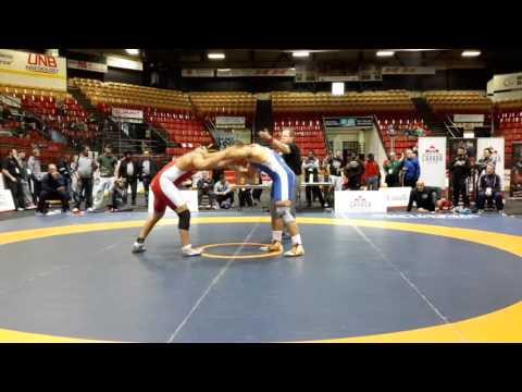 2016 Canadian Senior Championships: 125 kg Final Gurjot Kooner vs. Yakhdan Al-Rekabi