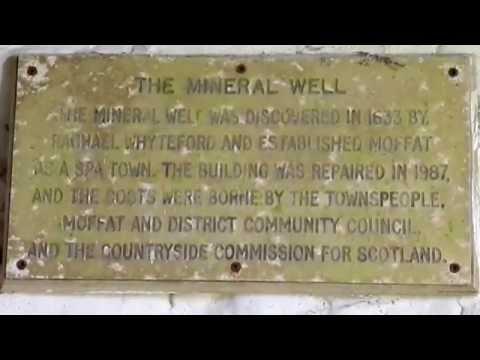 The Moffat Mineral Well, Scotland
