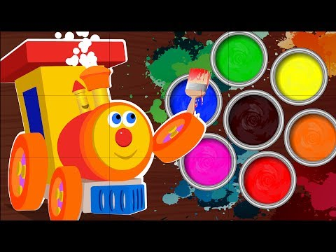 KBC   learn colors with ben   Ben The Train   Mixing Colors   color song