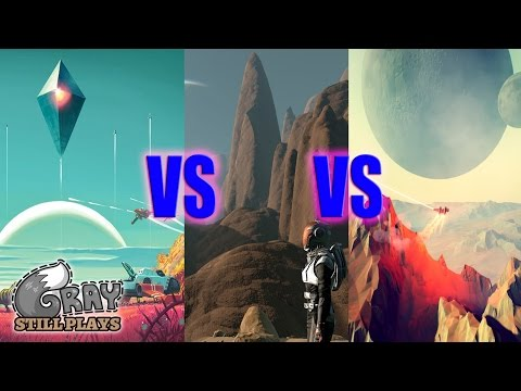 No Man's Sky Vs The Long Journey Home Vs Dual Universe | Growing Procedurally Generated Space Genre