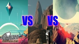 No Man's Sky vs The Long Journey Home vs Dual Universe | Growing Procedurally Generated Space Genre(Today we're talking about three upcoming space exploration games that utilize procedural generation, No Man's Sky, The Long Journey Home, and Dual ..., 2016-06-25T21:08:09.000Z)