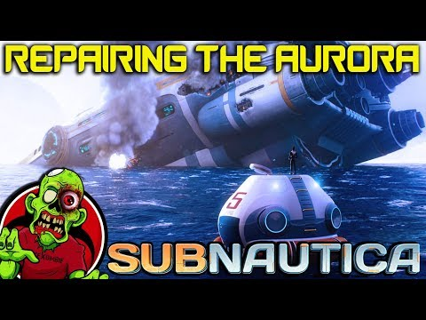 Download Subnautica Going Inside The Aurora Shipe To Explore