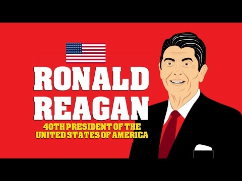 Ronald Reagan Biography (Cartoon): Watch a educational video for students on President Ronald Reagan