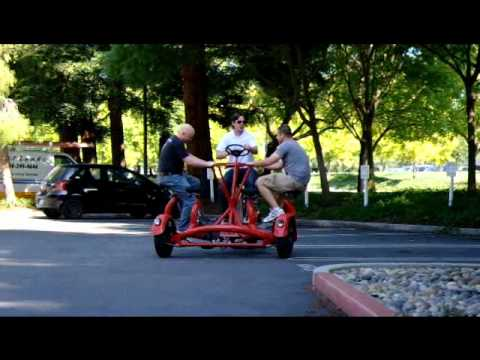Crazy google bike