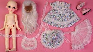 ★구체관절인형 리나슈슈 데이지 박스개봉!!!옷입히기~★BJD-LINA chouchou Daisy Doll Unboxing/Ball-Jointed Doll