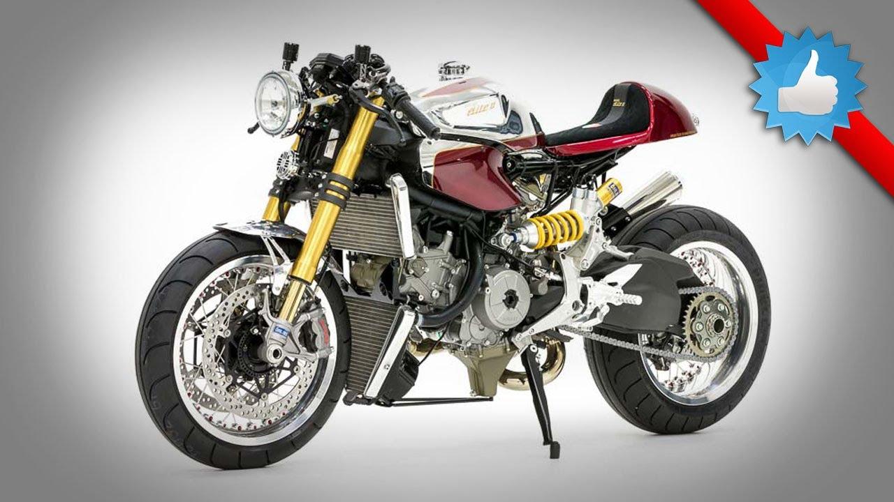 2014 Ducati 1199 Panigale S Cafe Racer Retro Superbike