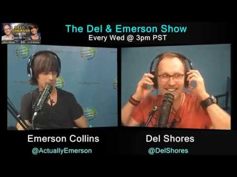 The Del & Emerson Show - 3/18/15 - Anne Steele & Kelli Carpenter