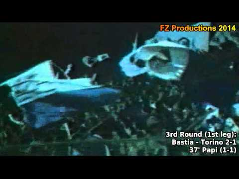 1977-1978 Uefa Cup: SC Bastia All Goals (Road to the Final)