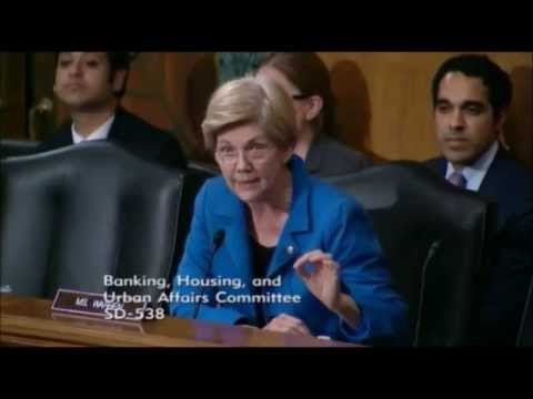 Elizabeth Warren Questions Fed Chair Yellen Over Big Banks