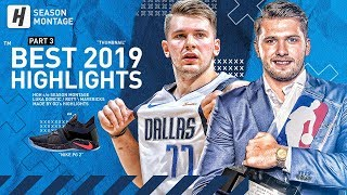 Luka Doncic BEST Highlights & Moments from 2018-19 NBA Season! (LAST Part 3)