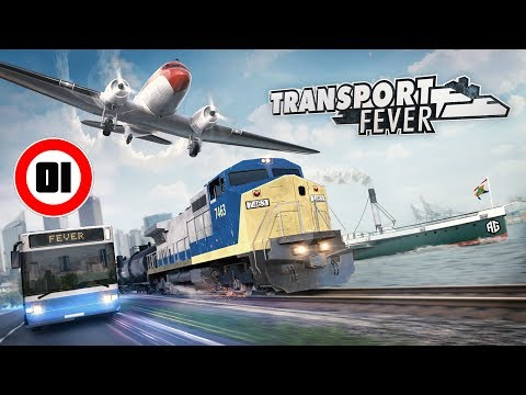 Transport Fever #01 | 1850 - PREMIERES CONNEXIONS