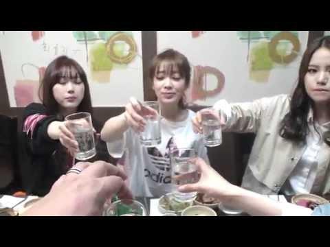 [9] 걸그룹 '블레이디' (Blady)와 함께한 고기 먹방!! - KoonTV