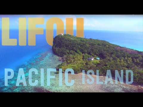 Pacific Islands with a Drone... check out this clear water!