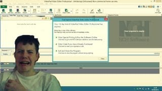 How to unlock VideoPad Video Editor Free version.