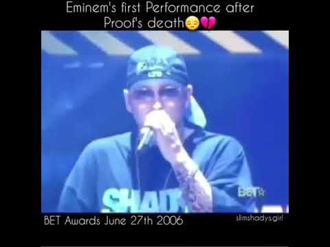 Eminem first performance after proof's death - YouTube  Eminem Proof Death