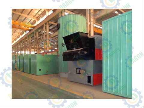 Thermal Oil Heater - Industrial Non-flame Heating System