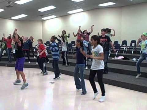 Hustle at Badger Ridge Middle School!