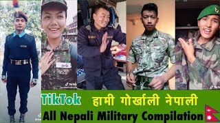 TikTok Nepal | Nepali Gorkhali Military All Around The World Compilation |  हामी गोर्खाली