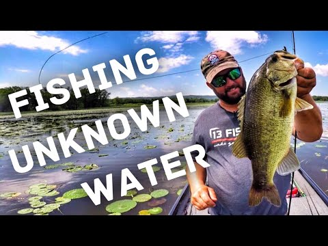 Bass Fishing In Unknown Places - How To Find Fish Fast  - La Crosse Wisconsin - Mississippi River