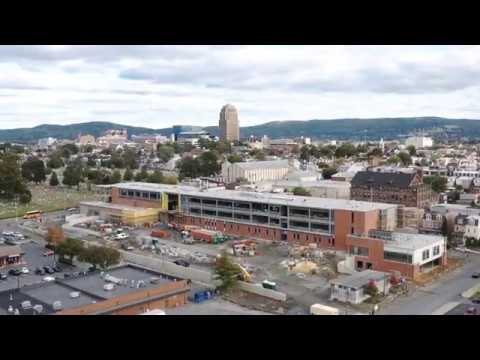 Allentown Elementary School Construction Drone Video! - Breslin Architects