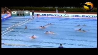 Partizan 11 Pro Recco 7 Gold Game Final Four 2011 Euroleague 5.6.11 water polo