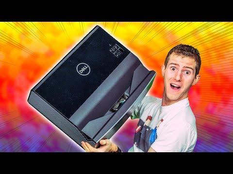 4K HDR LASER Projector from.. Dell?? S718QL Review
