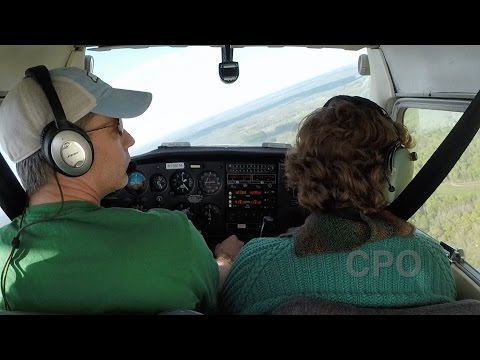 CPO Flight Lesson 4 : C152 Turns Around a Point, S Turns, Forward Slips